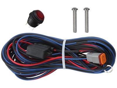 RIGIDTM 3 rigid industries minn kota fortrex trolling motor led 40003 rigid wiring harness at n-0.co