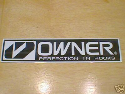 OWNER  DECAL STICKER