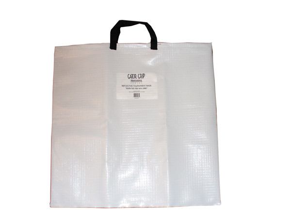 GATOR GRIP WEIGH-IN BAG WHITE/BLK
