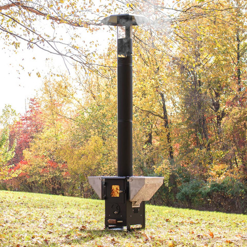 Shipping A Car >> NEWFIRE LITTLE TIMBER PATIO HEATER BY TYSON TRAEGER free shipping in Continental US