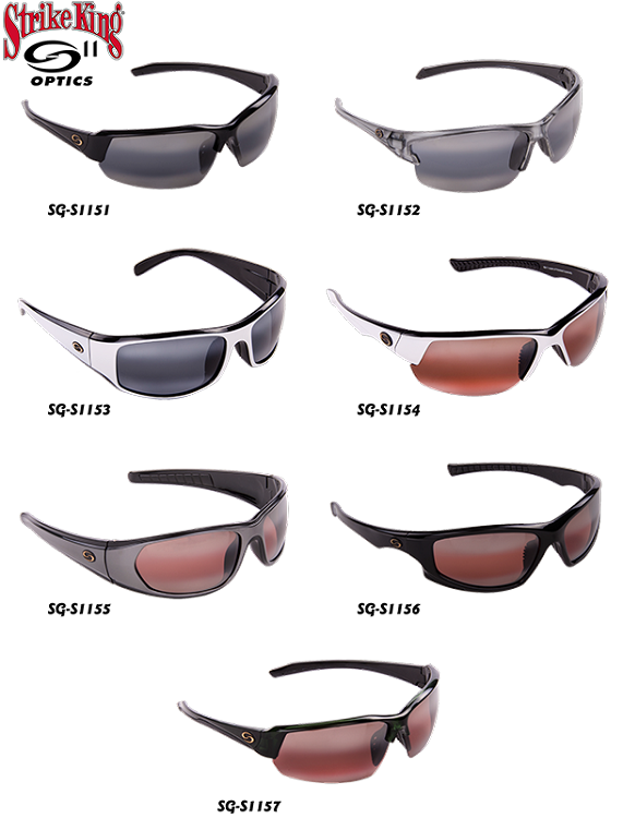 Strike King Sunglasses  strike king sunglasses s11 eleven layers of superior polarized