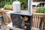 Cascade Complete Cookstove BY TYSON TRAEGER free shipping in Continental US