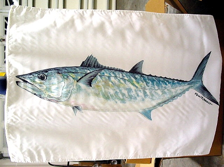 CALCUTTA BRAGGIN FLAG  KINGFISH