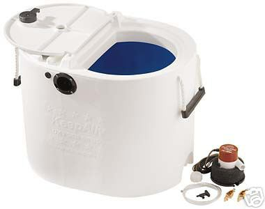 KEEPALIVE KEEP ALIVE BAIT TANK 14 GAL oval INSULATED