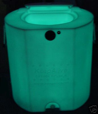 KEEPALIVE KEEP ALIVE BAIT TANK 30 GAL GLO tank only