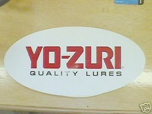 YOZURI DECAL LARGE FREE SHIPPING