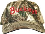BUCKEYE HAT  OR VISOR CAMO