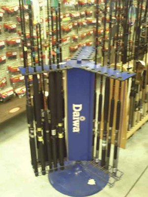 ROD RACK DAIWA METAL