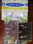 Captain Mack's Umbrella Rigs  5 baits