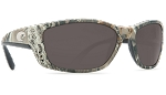 Costa Del Mar Sunglasses Fisch camo with Grey 580p lens fs23pgp