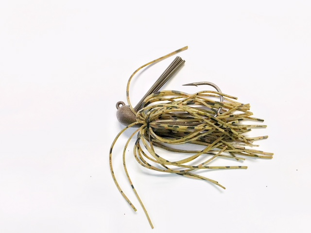 Greenfish Tackle New Square Rubber Jig