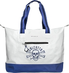Calcutta CTB Vinyl Tote Bag with Zipper Closure Water Resistant
