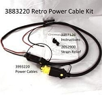 Cannon Power cable kit,retro 3883220