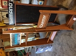RETAIL DISPLAYS and Fishing rod racks