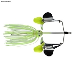 Greenfish Shark Buzzbait Double Buzz with floats