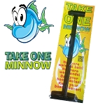 Take One Minnow  minnow scoop, no more wet hands