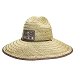Calcutta Straw hat with chin strap One size fits most BR209335