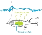 FISH ALLURE SCENTED STICKY TABS